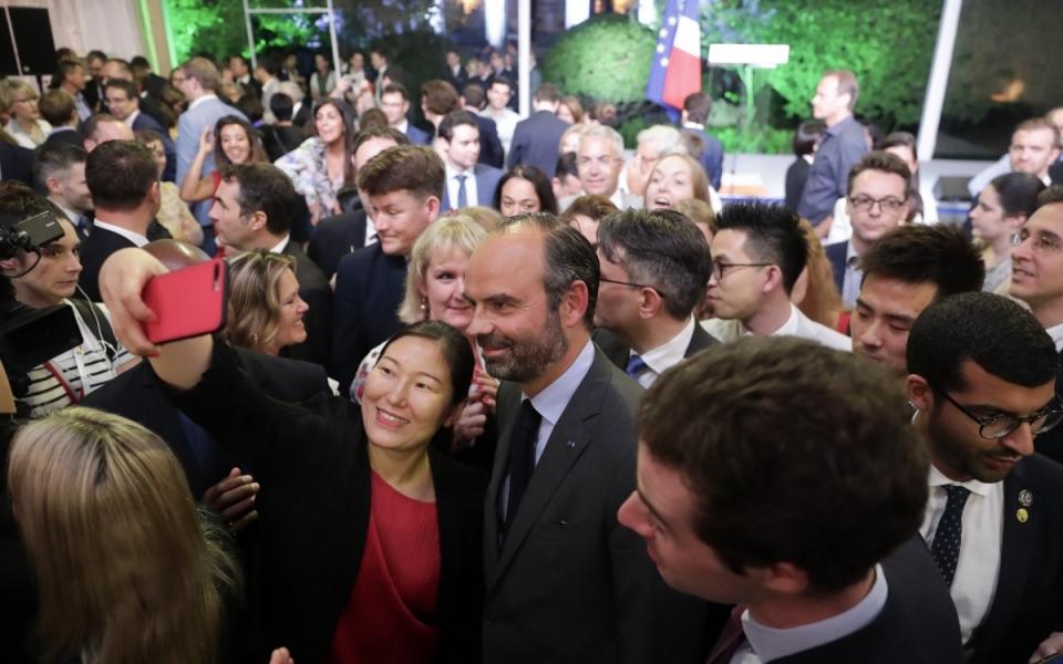 Le 23 juin 2018 : Réception en l'honneur de la Communauté française de Shanghai.