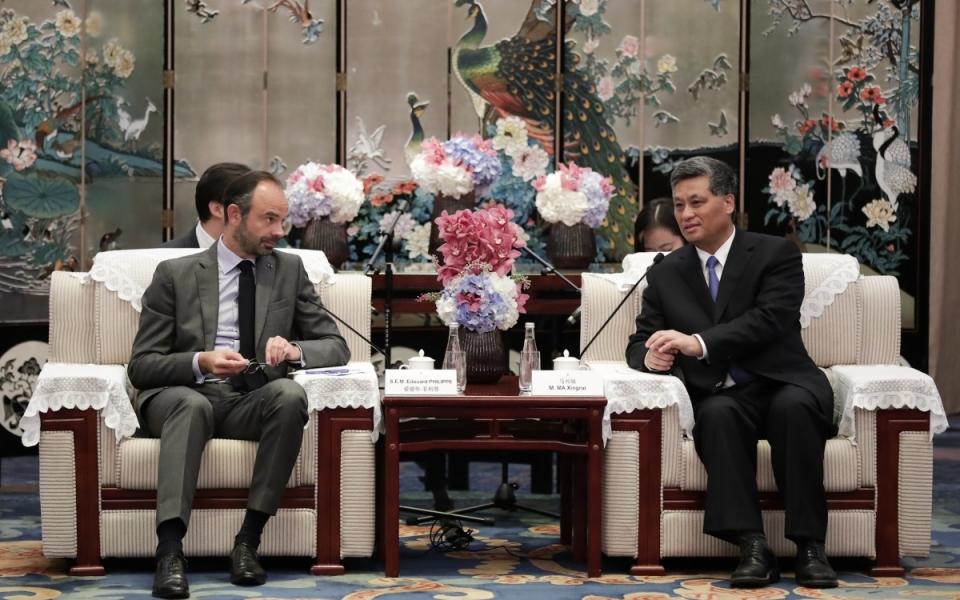 Le 22 juin 2018 : Entretien avec M. Ma Xingrui, gouverneur de la province du Guangdong