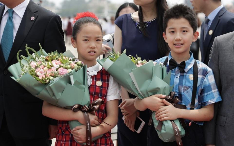 Le 24 juin 2018 : accueil à l'aéroport international de Pékin-Capitale