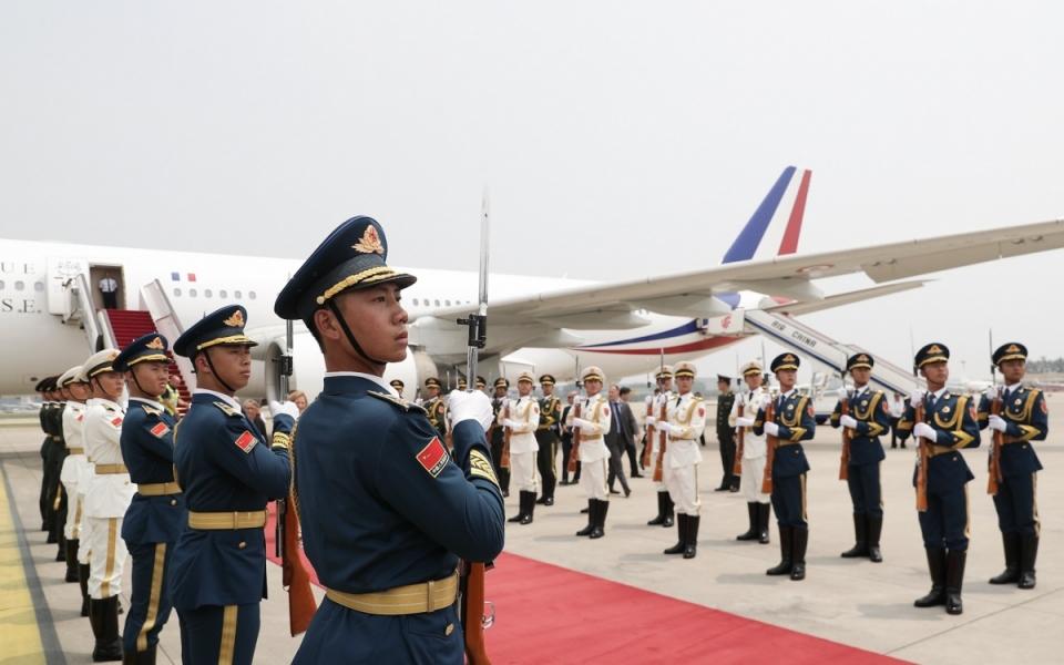 Le 24 juin 2018 : atterrissage à l'aéroport international de Pékin-Capitale
