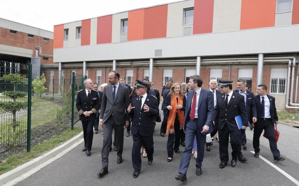 08/06 - Arrivée au Centre de détention de Muret