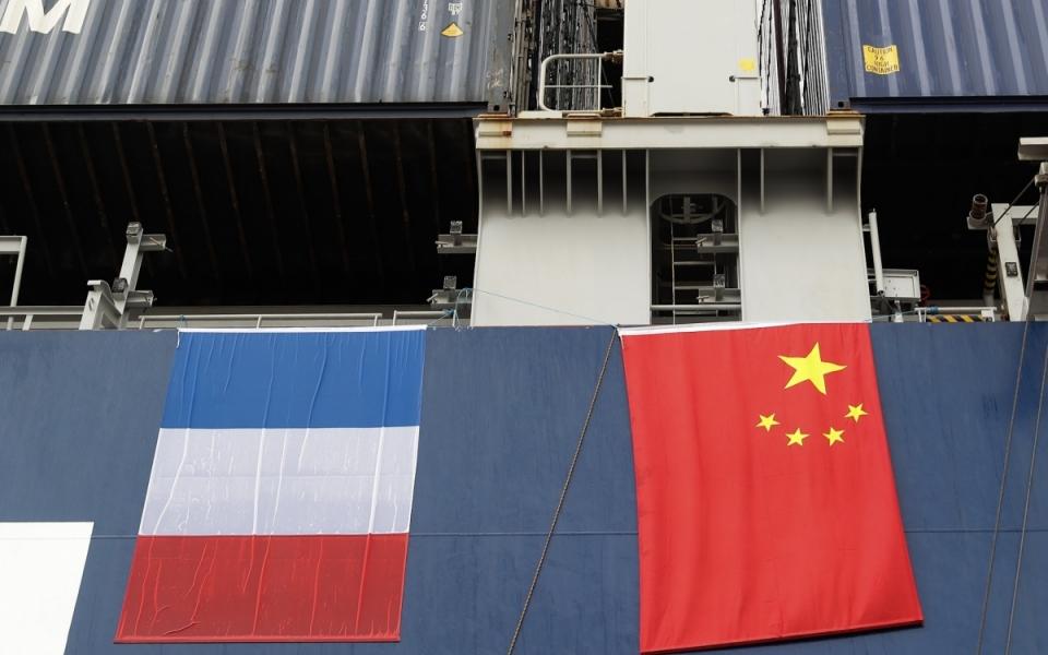 Le 23 juin 2018 : visite du port en eaux profondes de Yangshan