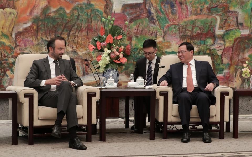 Le 23 juin 2018 : Entretien avec M. LI Qiang, secrétaire du Parti pour la municipalité de Shanghai - Hôtel Hengshan