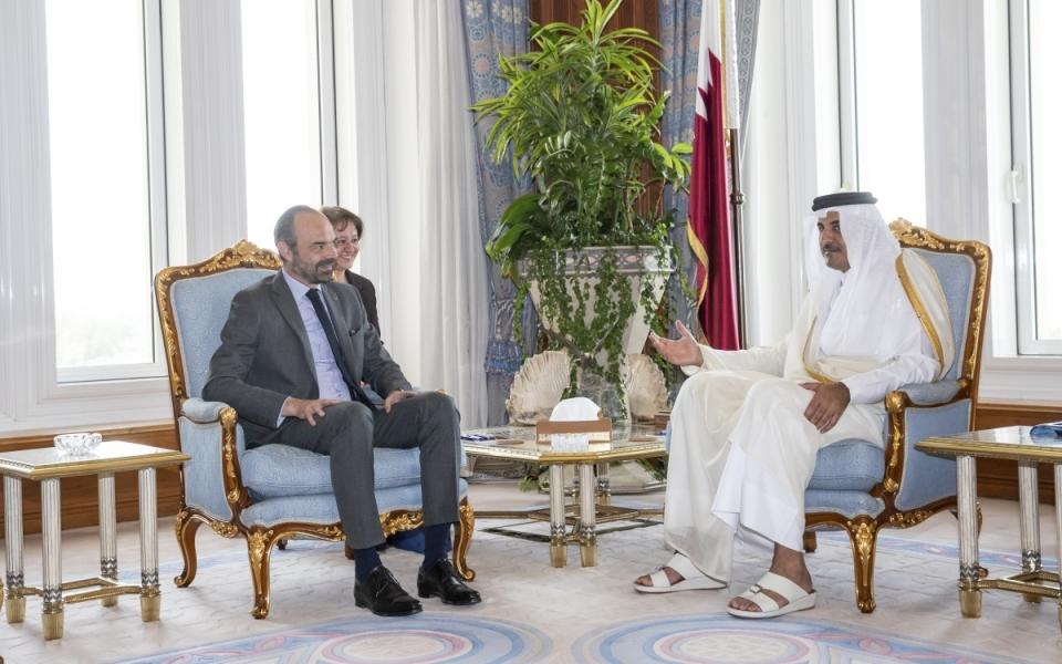 Entretien avec Cheikh Abdallah Bin Nasser Bin Khalifa AL THANI, Premier ministre et ministre de l'Intérieur de l'État du Qatar