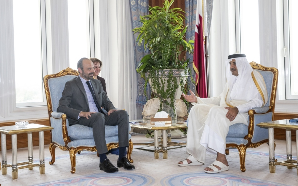 Talks with Sheikh Abdullah bin Nasser bin Khalifa Al Thani, Prime Minister and Minister of Interior, State of Qatar