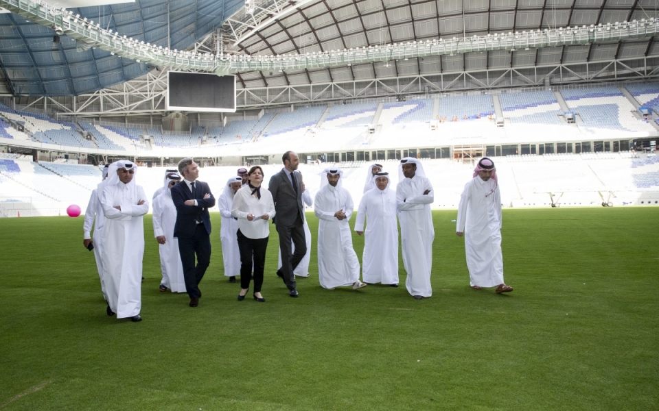 Visit to Al-Wakrah Stadium