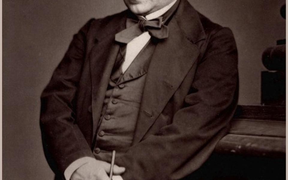 Portrait d'Ernest Renan