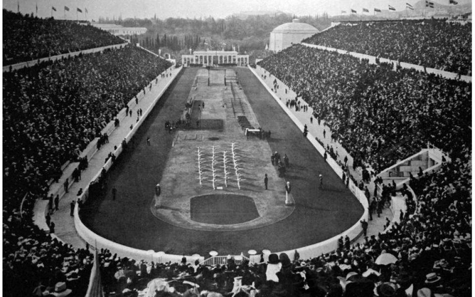 """Athènes 1896. Inauguration des """"Jeux olympiques (JO) de l'ère moderne"""""""