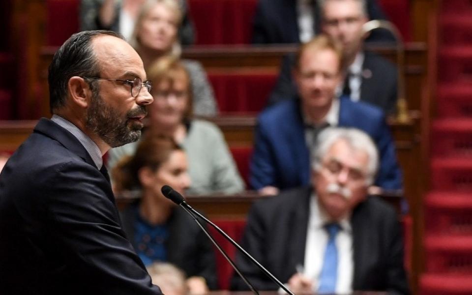 D�claration de politique g�n�rale par Edouard Philippe le 12 juin 2019