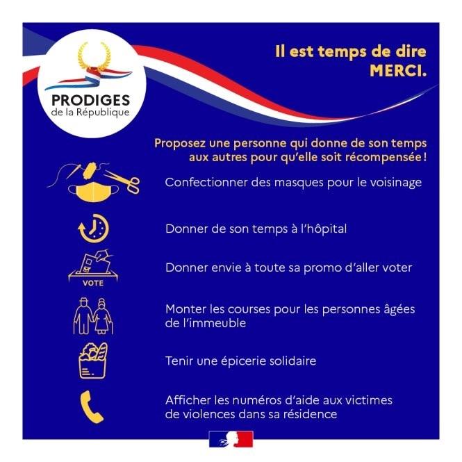 Infographie - Les Prodiges de la République