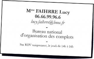 Bureau national des complots