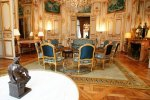 Paris Matignon hotel: blue room