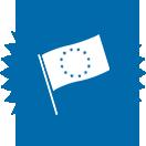 Picto représentant le drapeau européen