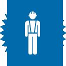Picto représentant un travailleur