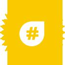 picto hashtag