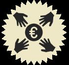 Pictogramme financement participatif