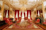 Paris Matignon hotel: red room