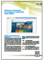 Reference framework for european sustainable cities (RFSC)