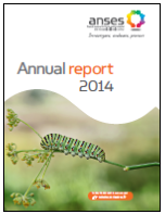 French ANSES Annual Report 2014