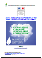 COP21 Agriculture & forestry: solution for climate