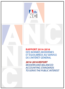 ANC 2014-2016 report - Modern and balanced accounting standards to serve the public interest