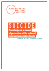 Social Affairs Suicide - Knowledge as a means of prevention at the national, local and association levels