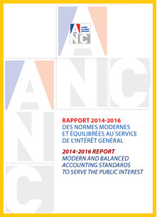FRANCE - ANC 2014-2016 report - Modern and balanced accounting standards to serve the public interest