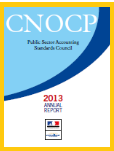 FRANCE - PUBLIC SECTOR ACCOUNTING STANDARDS COUNCIL (2013 report)