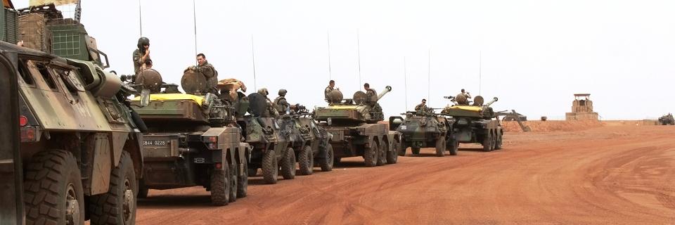 Photo illustrant l'Opération Serval