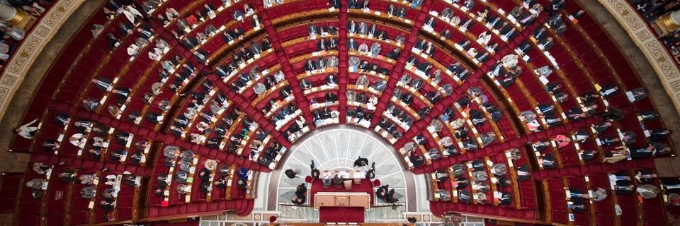 Photo de l'hémicycle
