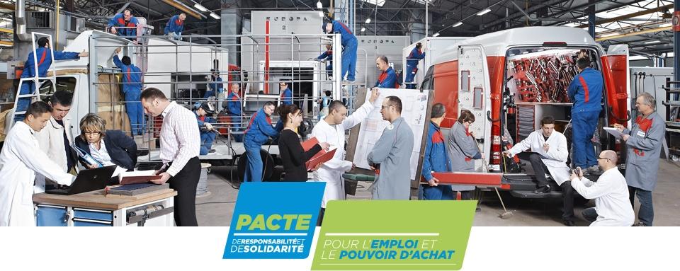 Photo illustrant une coopérative industrielle