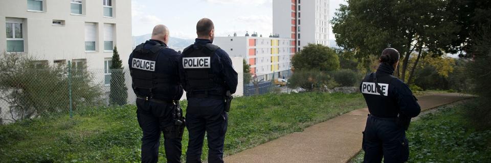 Photo de policiers