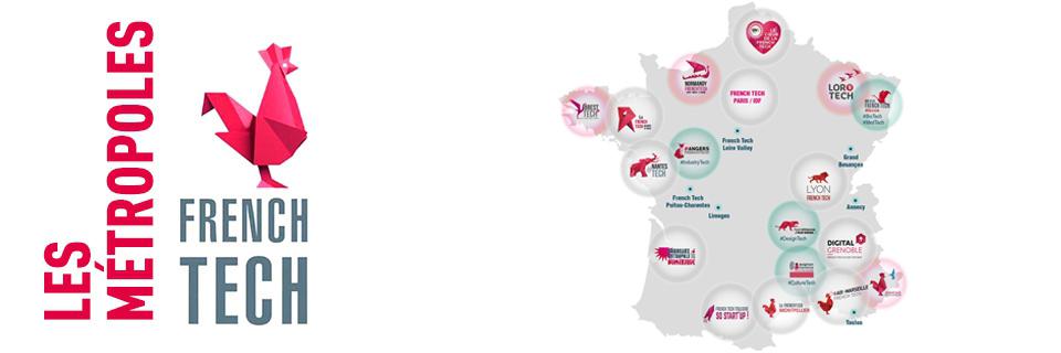 Métropoles French tech