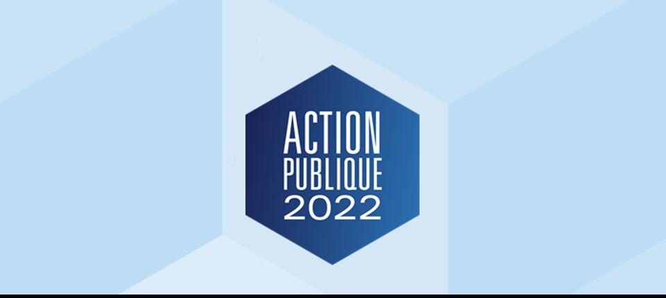 """Logo de """"Action Publique 2022"""""""