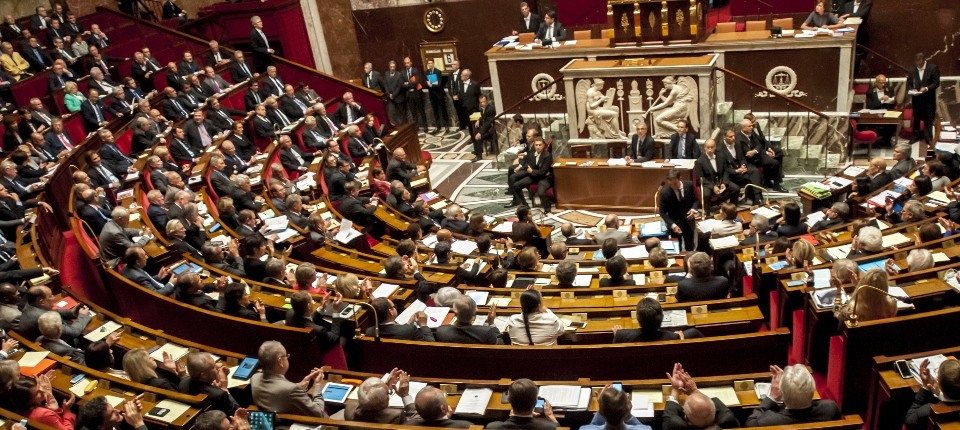 Vue de l'Assemblée nationale