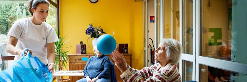 Photo d'une résidence pour personnes atteintes de la maladie d'Alzheimer