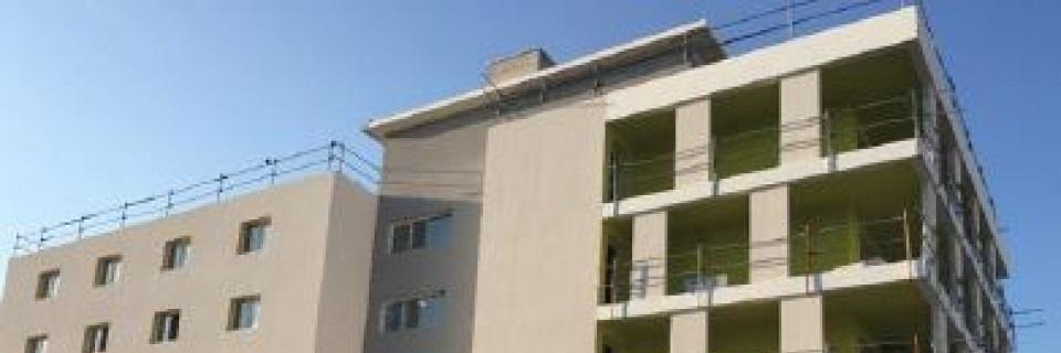 Un immeuble de logements