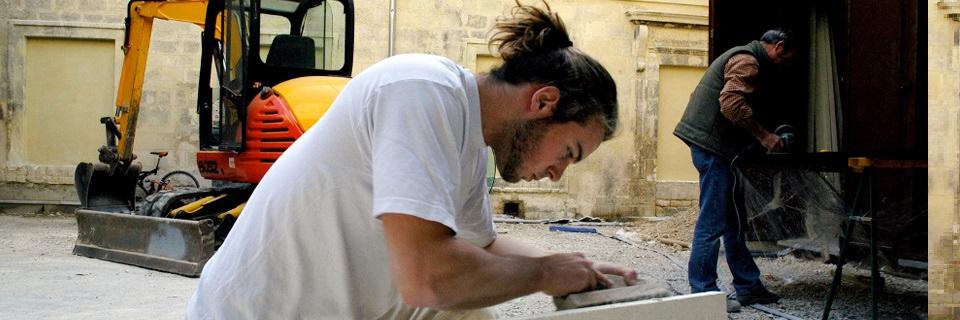 Un jeune artisan