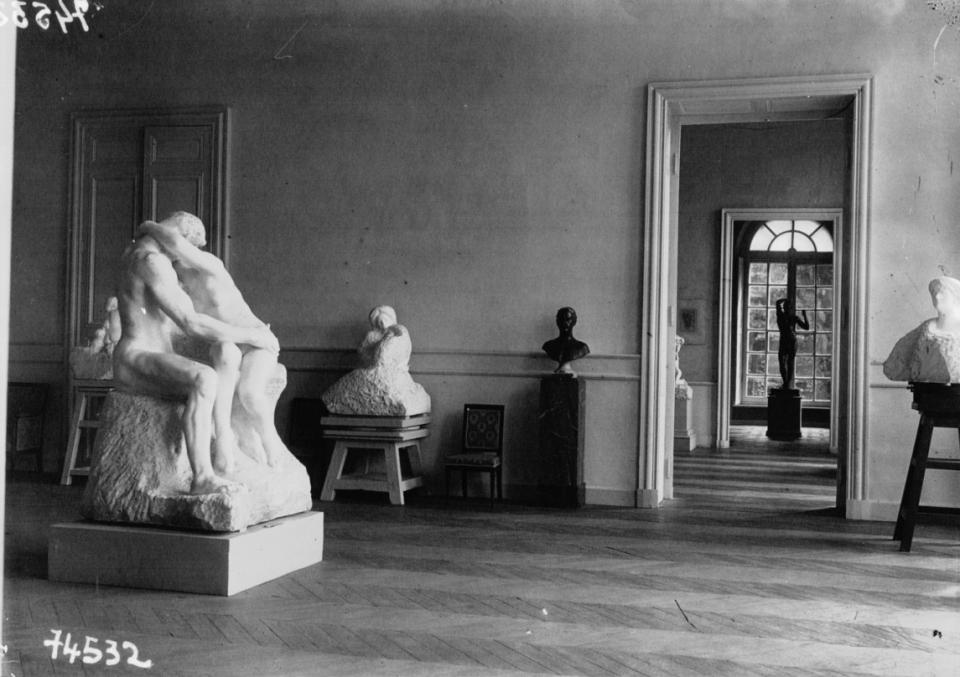Hôtel Biron, transformé en musée Rodin : vue du Musée (1919) - voir en plus grand