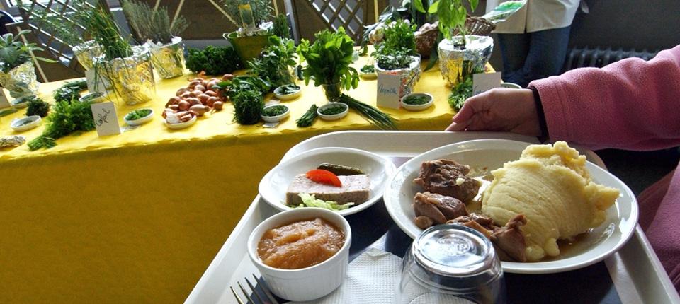 Photo d'un plateau-repas