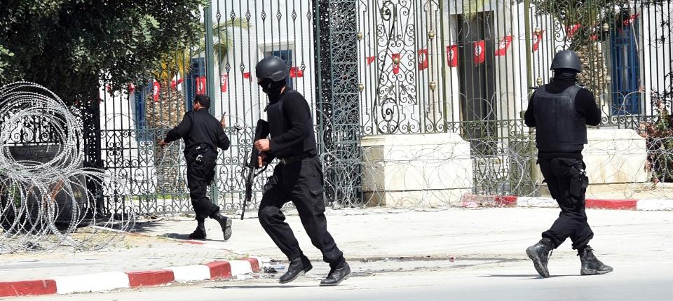 Photo prise lors de l'attaque terroriste du musée du Bardo de Tunis