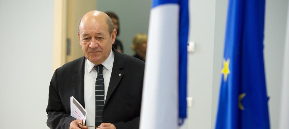 Photo de Jean-Yves Le Drian, ministre de la Défense