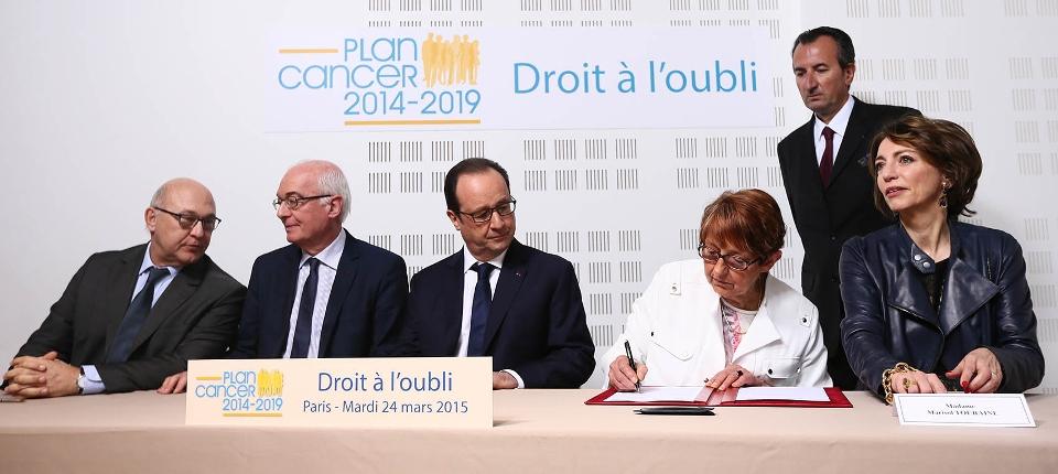 Signature du protocole d'accord sur le droit à l'oubli