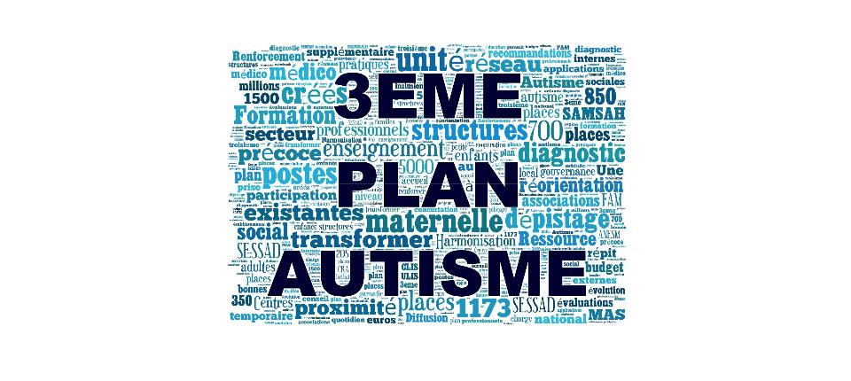Logo du 3e plan autisme (2013-2017)