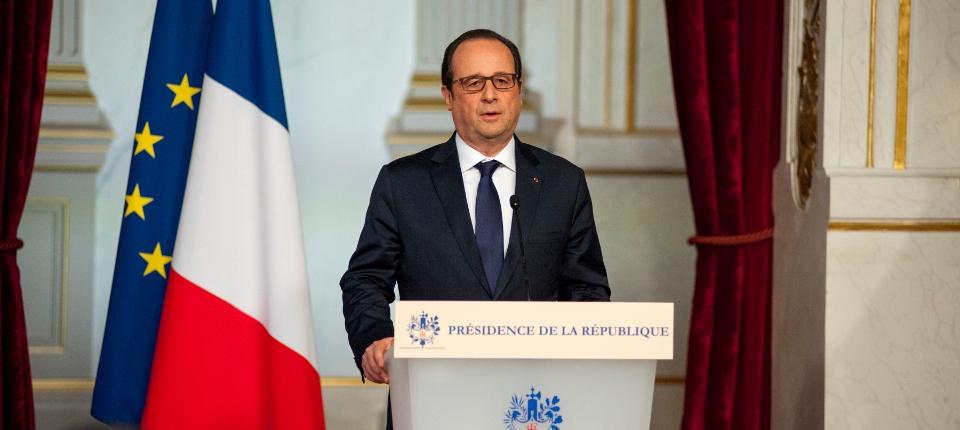 Photo du président de la République François Hollande