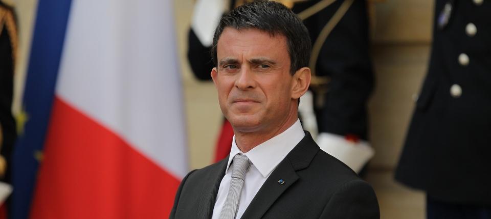 Photo de Manuel Valls le 28 mai 2015