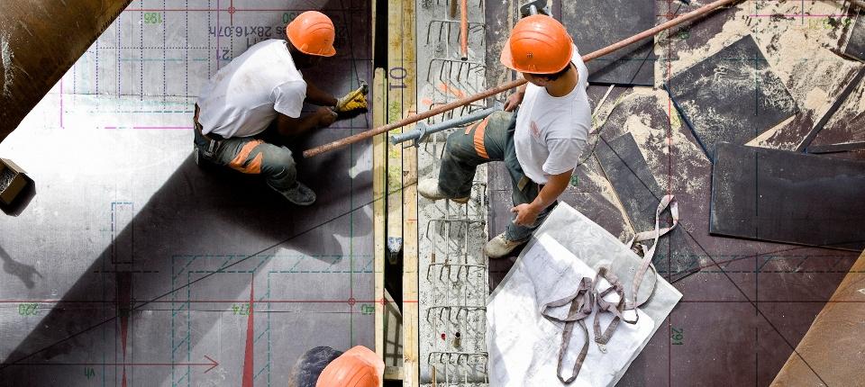 Photo illustrant un chantier de construction à Paris (Ile de France)