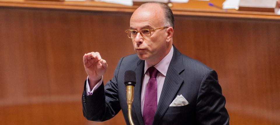 Photo de Bernard Cazeneuve à l'Assemblée nationale