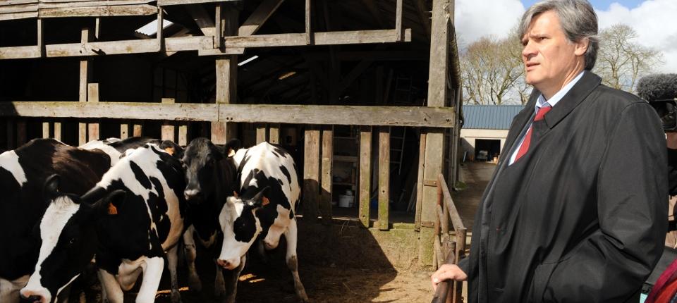 Photo de Stéphane Le Foll, ministre de l'Agriculture, de l'Agroalimentaire et de la Forêt
