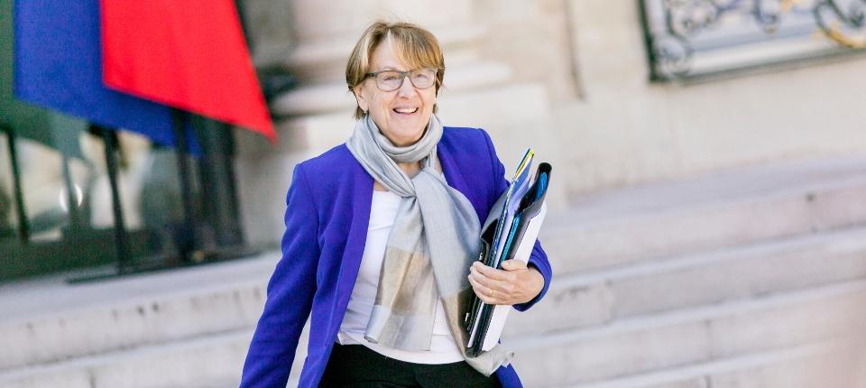 Photo de la ministre de la Décentralisation et de la Fonction publique, Marylise Lebranchu